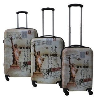 Rivolite New York 3-piece Expandable Hardside Spinner Luggage Set