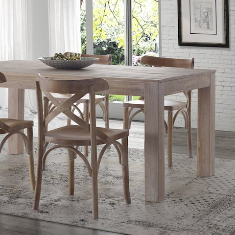 Grain Wood Furniture Solid Pine Montauk Dining Table