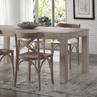 Link to Grain Wood Furniture - Montauk Dining Table - Solid Wood Similar Items in Dining Room & Bar Furniture