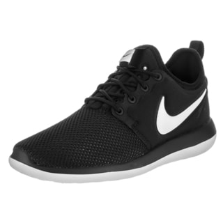 Nike Kids Roshe Two (GS) Black Synthetic Leather Running Shoes