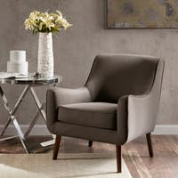 Madison Park Liam Grey Mid-Century Accent Chair