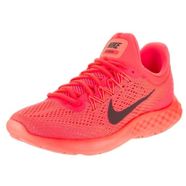 86dbe95f7a4 Shop Nike Women's Lunar Skyelux Pink Running Shoes - Free Shipping ...