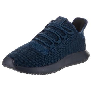 Adidas Men's Tubular Shadow Knit Originals Blue Textile Running Shoes
