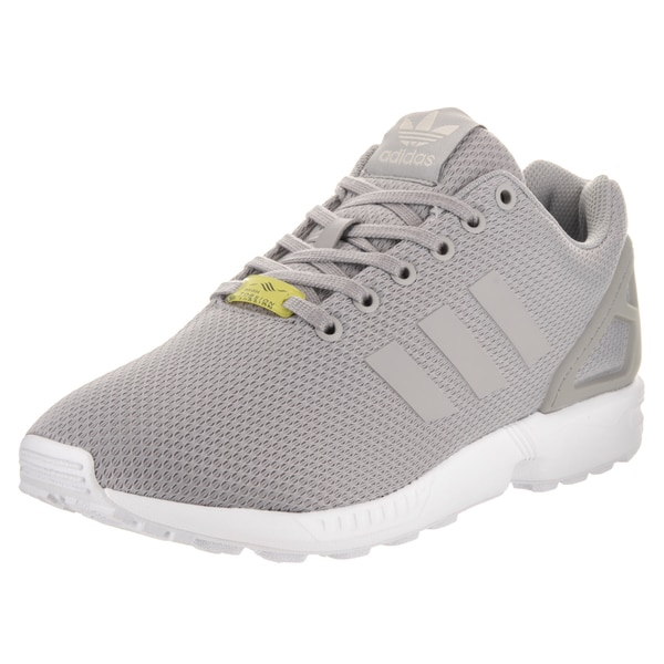 f36df3486 Adidas Men  x27 s ZX Flux Originals Grey Synthetic-leather Running Shoes