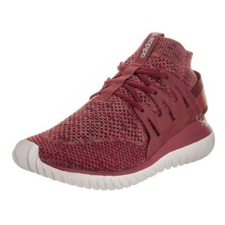 Adidas Men's Tubular Nova Pk Originals Red TExtile Running Shoes