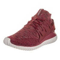 Adidas Men's Tubular Nova Pk Originals Red TExtile Running Shoes