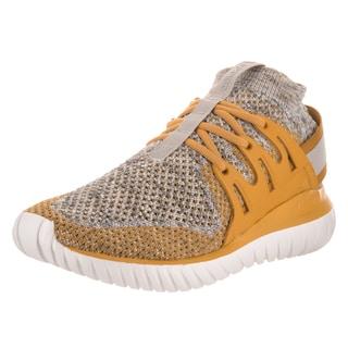 Adidas Men's Tubular Nova Pk Originals Yellow Textile Running Shoes