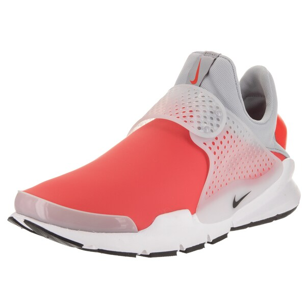aaf7e26979987 Shop Nike Men s Sock Dart SE Orange Leather Running Shoes - Free ...