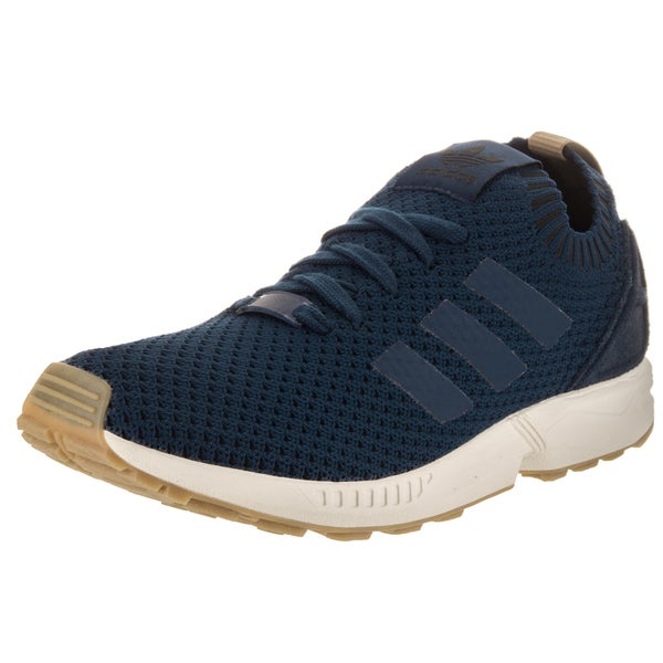 Shop Adidas Men s ZX Flux Pk Originals Blue Textile Casual Shoes ... 5896f548b