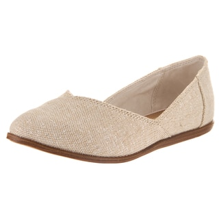 Toms Women's Jutti Beige Flat Casual Shoes