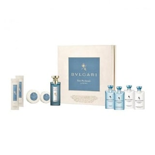 Bvlgari Eau Parfumee Au The Bleu 9-piece Gift Set