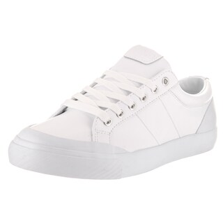 Polo Ralph Lauren Men's White Leather Casual Shoe