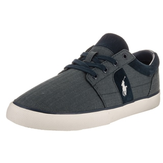 Polo Ralph Lauren Men's Halmore II Blue Denim Casual Shoe