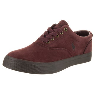 Polo Ralph Lauren Men's Vaughn Sk Vlc Red Nubuck Casual Shoes