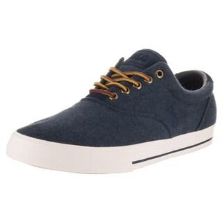 Polo Ralph Lauren Men's Vaughn Blue Fabric Casual Shoes