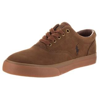 Polo Ralph Lauren Men's Vaughn Sk Vlc Brown Nubuck Casual Shoe