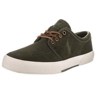 Polo Ralph Lauren Men's Faxon Green Suede Casual Shoe