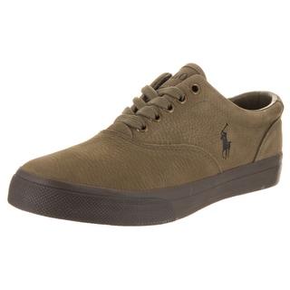 Polo Ralph Lauren Men's Vaughn Sk Vlc Green Nubuck Casual Shoes
