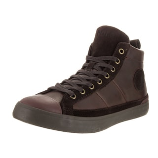 Polo Ralph Lauren Men's Clarke Sk Vlc Brown Leather Casual Shoes