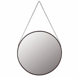 Emperor Metal-framed Round Hanging Wall Mirror