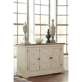 Signature Design by Ashley Bolanburg Two-tone Dining Room Server