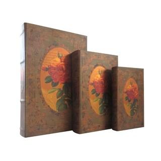 Storage Book Box (Set of 3)