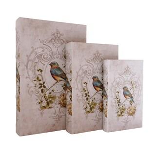 Rustic Fleur-de-lis Pattern Book Box (Set of 3)|https://ak1.ostkcdn.com/images/products/14231237/P20822390.jpg?_ostk_perf_=percv&impolicy=medium