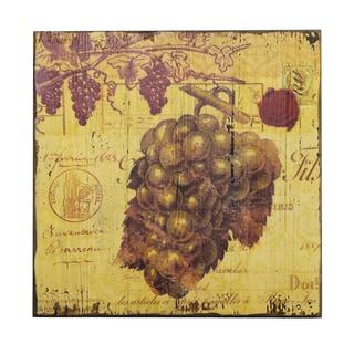 'Vintage Grape Vine' Wall Plaque