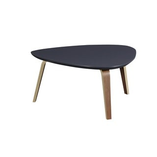 Tisdale Contemporary Modern Medium Ebony Coffee Table