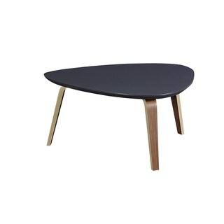 Tisdale Contemporary Modern Medium Ebony Coffee Table
