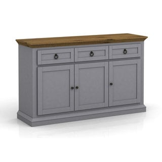 DG Casa Annabelle Grey and Cottage Oak Buffet