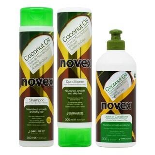 Novex Coconut Oil Shampoo and Conditioner + Oleo de Coco Hair Food