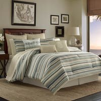 Tommy Bahama Canvas Stripe Duvet Cover Set