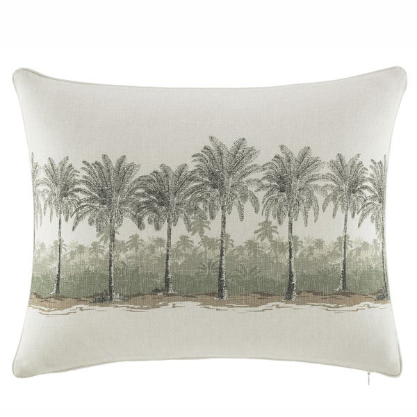 Tommy Bahama Canvas Stripe 16x20 Breakfast Decorative Pillow
