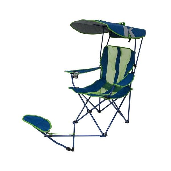 Wondrous Original Canopy Chair Ottoman Navy Customarchery Wood Chair Design Ideas Customarcherynet