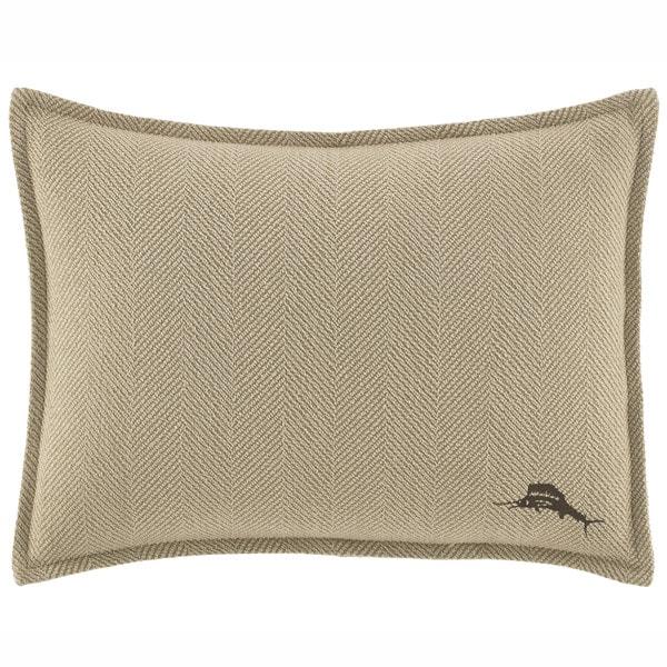 Shop Tommy Bahama Canvas Stripe Breakfast Pillow