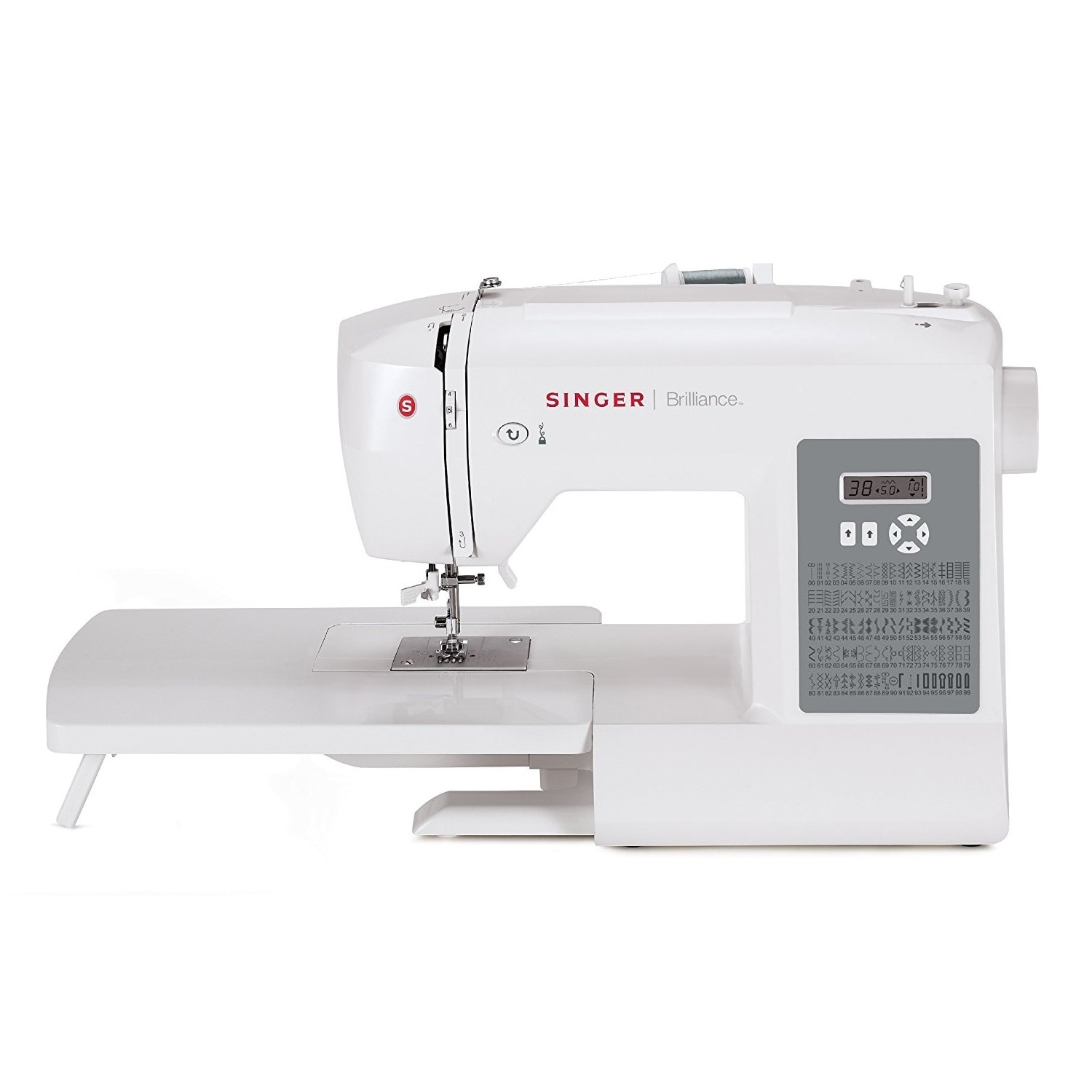 SINGER SEWING CO. 6180 Brilliance 80 Stitch Sewing Machin...