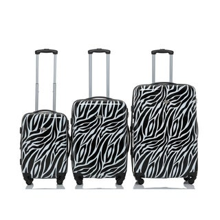 RivoliteZebra 3-piece Expandable Handside Spinner Luggage Set