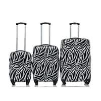RivoliteZebra 3-piece Expandable Handside Spinner Luggage Set