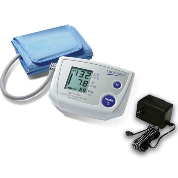 LifeSource One Step Plus Memory Blood Pressure Monitor