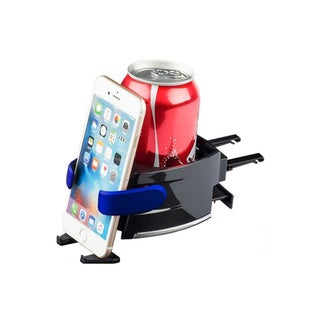 Etcbuys Black Plastic Car Cup and Cell Phone Holder
