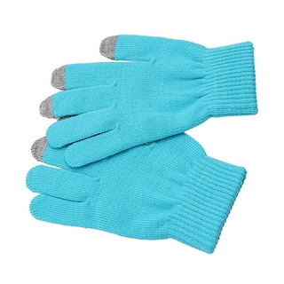Etcbuys Men's Knitted Touchscreen Smartphone Tablet Gloves