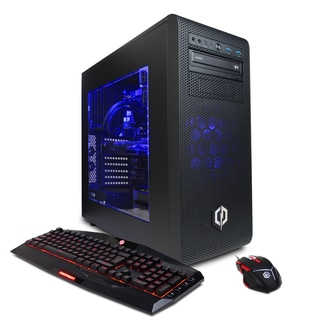CYBERPOWERPC BattleBox Essential Liquid Cool SLC8420OS w/ Intel i7-7700K 4.2GHz Gaming Computer