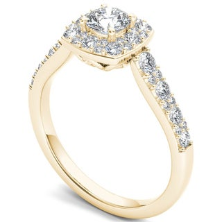 Halo Engagement Rings Find Your Perfect Ring Overstockcom