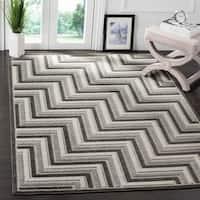 Safavieh Cottage Dark Grey / Light Grey Area Rug - 5'3 x 7'7