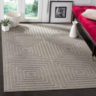 Safavieh Cottage Light Grey / Grey Area Rug (6'7 x 9'6)