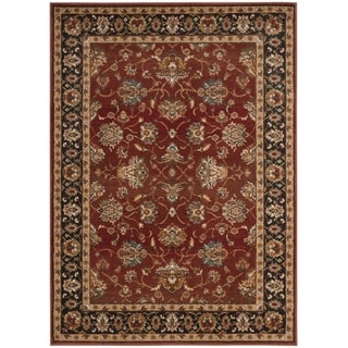 Safavieh Summit Red / Dark Grey Area Rug (5'1 x 7'6)