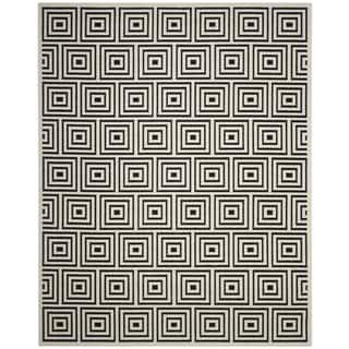 Safavieh Cottage Black / Creme Area Rug (8' x 11'2)