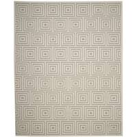 Safavieh Cottage Grey / Cream Area Rug - 8' x 11'2