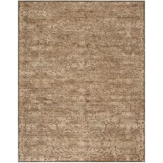 Safavieh Martha Stewart Soft Anthracite / Camel Area Rug (8'10 x 12'2)